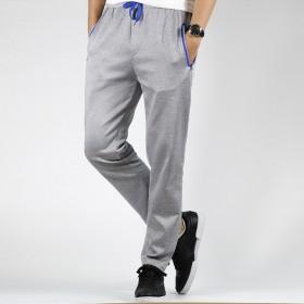 男士运动裤大码宽松舒适拉链口袋