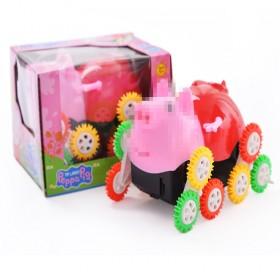 玩具车儿童卡通男孩玩具小猪翻斗车