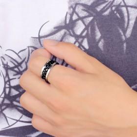戒指钛钢个性尾戒