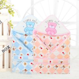 新生儿抱被加厚款秋冬季宝宝抱毯婴儿包被初生儿用品