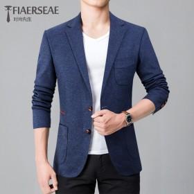 菲莱威尔38%羊毛商务修身小西装外套上衣便西