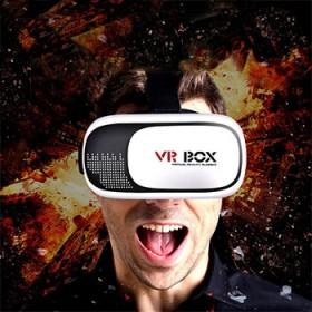 VR眼镜虚拟现实3d眼镜手机头戴式立体影院游戏头盔