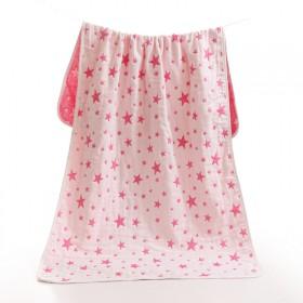 宝宝5层全棉纱布浴巾婴儿盖毯新生儿包被推车毯子