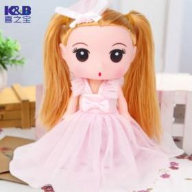 喜之宝洋娃娃可爱萌娃娃迷糊女孩过家家公主玩具萌教主