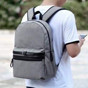 男士双肩包韩版休闲时尚潮流书包男旅行包牛津布背包潮