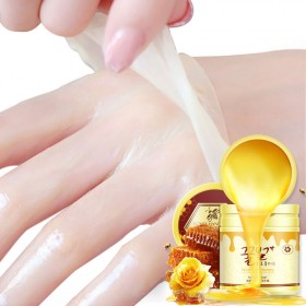 牛奶蜂蜜手蜡手膜美白保湿补水嫩白护手霜去角质死皮手