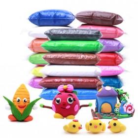 【24色】超轻粘土橡皮泥无毒手工泥彩泥超级黏土玩具