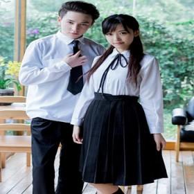 班服初高中大学生装韩版短袖白衬衫男女春夏套jk制服