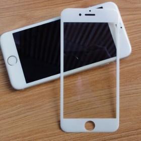 苹果iphone7全屏覆盖钢化玻璃膜3D碳纤维软边