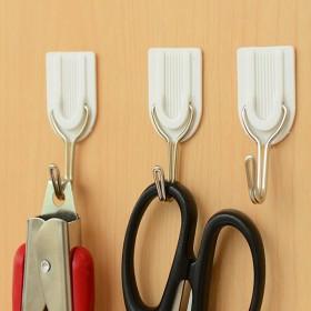 厨房壁浴室墙壁创意挂钩 重吸盘承重黏钩免钉子