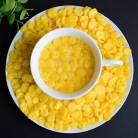 即食熟玉米片可配燕麦片牛奶花生 营养早餐500g