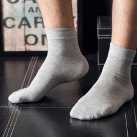 【买一盒送一盒】10双棉袜子男士四季全棉中筒袜