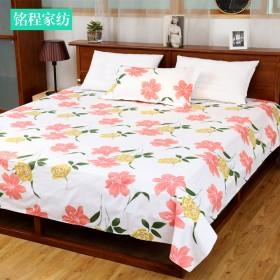 加宽床单 纯棉老粗布床单加长加宽床罩