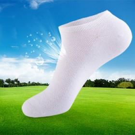 【5双装】超透气网眼短袜 纯棉吸汗防臭袜运动必备