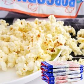 微波炉爆米花100g乘10袋膨化食品奶油玉米花零食