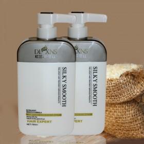 淘米水洗发水送护发素无硅油780ml套装滋润