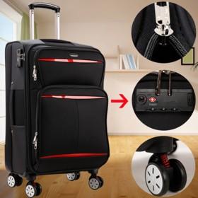 军刀系列品牌防水牛津布拉杆箱旅行箱密码行李箱登机箱