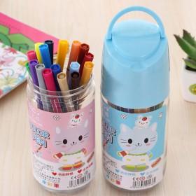 【24色】水彩笔小学生绘画水彩笔儿童礼品幼儿园涂鸦