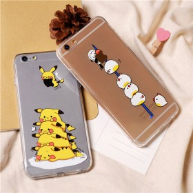 可爱卡通iPhone6s苹果手机壳7plus手机套