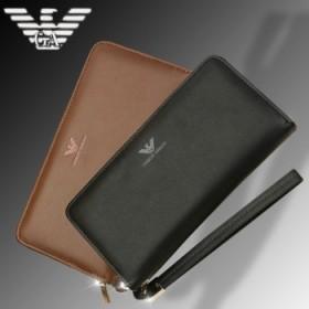 代购阿玛尼品牌钱包中长款手包拉链包真皮包 巨亏促销