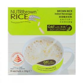 原装进口NutriBrown纽瑞意燕麦糙米粉减肥