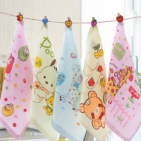 【5条搭配装】双层纱布毛巾婴儿纱布毛巾5条装