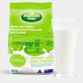 【1kg】澳洲原装进口冲饮 德蒙农场脱脂成人奶粉