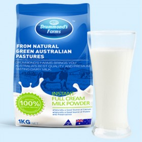 【1kg】澳洲原装进口冲饮 德蒙农场全脂成人奶粉