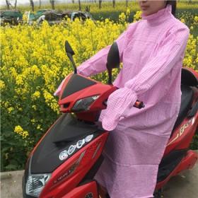电动车反穿防晒防挡风被防走光裙防紫外线防遮阳防