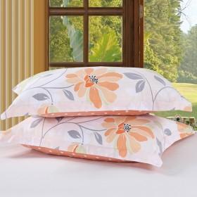 【新品限时促销】纯棉枕套一对 48x74cm