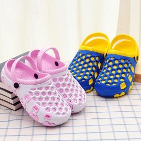 男女情侣洞洞鞋防滑透气包头凉拖鞋