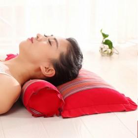 颈椎专用枕头 修复颈椎脊椎枕中药保健护颈枕芯荞麦枕