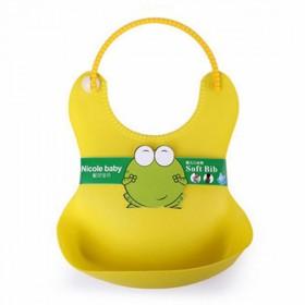 婴儿围兜 立体 防水兜 围嘴 塑料口水防漏宝宝饭兜