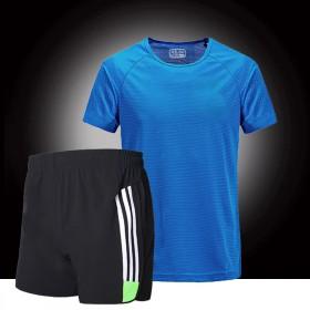 运动套装男短速干健身吸汗透气跑步运动服