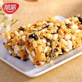 朋派紫菜蛋黄酥500g米花酥米花糖麦芽糖点心零食