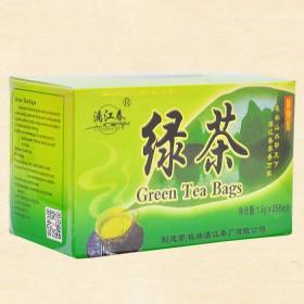漓江春 龙脊春茶绿茶 袋泡茶 25泡