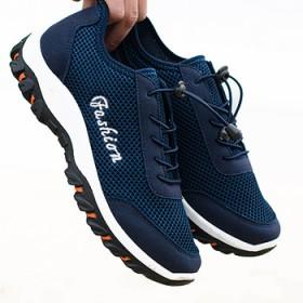耐磨防滑透气网面徒步登山鞋男鞋户外鞋旅游鞋休闲鞋
