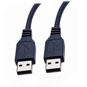 双头公对公usb2.0数据线 车载MP3笔记本散热