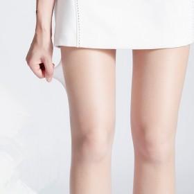 丝袜春夏季连裤袜防勾丝薄款肉色女大码隐形透明性感长