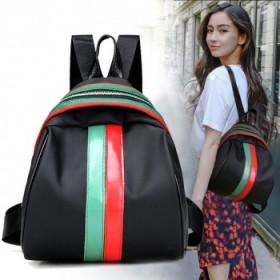 范冰冰明星同款高级牛津纺时尚双肩包女包休闲旅行背包