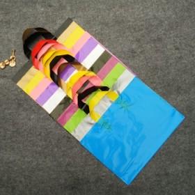 20个横版服装店手提袋定做logo加厚购物礼品塑料