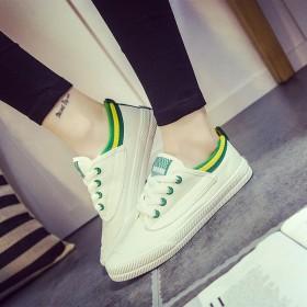 王菲同款小白鞋春季帆布鞋休闲女鞋子低帮平底学生鞋