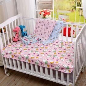 婴儿竹纤维隔尿垫水晶绒尿垫防水月经垫可洗双面四季薄