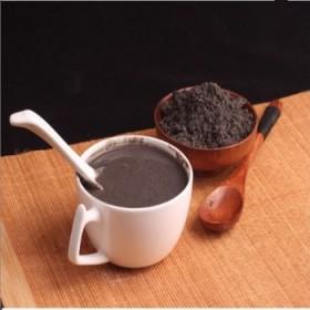 现磨熟黑芝麻粉核桃粉黑米黑豆粉500g