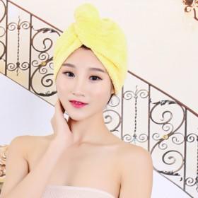 干发帽超强吸水成人干发加厚加大浴帽包头巾擦头发