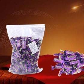 俄罗斯原装进口KDV紫皮巧克力夹心婚庆喜糖