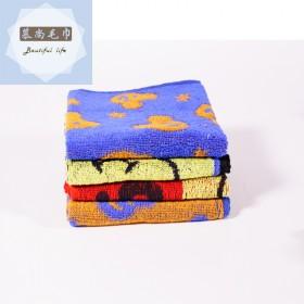 纯棉吸水洗脸巾全棉柔软舒适耐用面巾卡通童巾毛巾