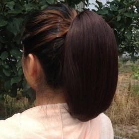 假发女抓夹式假发发苞自然花苞头扣式丸子头假发头饰