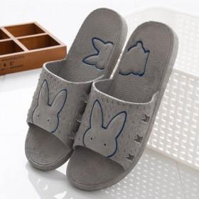 夏季浴室拖鞋男女防滑耐磨柔软室内居家拖鞋情侣拖鞋