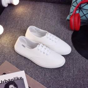 DNOKY品牌帆布小白鞋五色